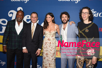 New York Premiere of Netflix Original Series The Good Cop Isiah Whitlock Jr, Tony Danza, Monica Barbaro, Josh Groban and Bill Kottkamp - NameFace Photo Agency New York City - hello@nameface.com - nameface.com - Photo by Daniela Kirsch