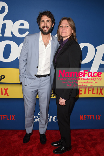 New York Premiere of Netflix Original Series The Good Cop Josh Groban and Cindy Holland - NameFace Photo Agency New York City - hello@nameface.com - nameface.com - Photo by Daniela Kirsch