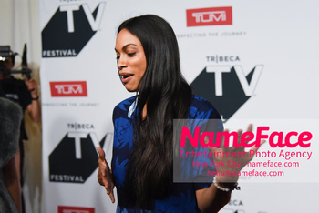 NY: The Journey at Tribeca TV Festival Rosario Dawson - NameFace Photo Agency New York City - hello@nameface.com - nameface.com - Photo by Daniela Kirsch