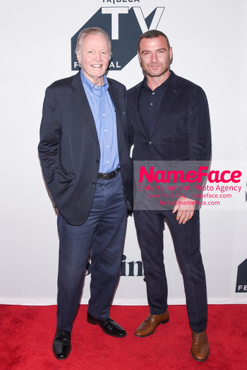 Ray Donovan Season 6 Premiere - 2018 Tribeca TV Festival Jon Voight and Liev Schreiber - NameFace Photo Agency New York City - hello@nameface.com - nameface.com - Photo by Daniela Kirsch