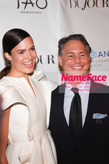 DuJour Magazine Celebrates The Fall Issue Mandy Moore and Jason Binn - NameFace Photo Agency New York City - hello@nameface.com - nameface.com - Photo by Daniela Kirsch