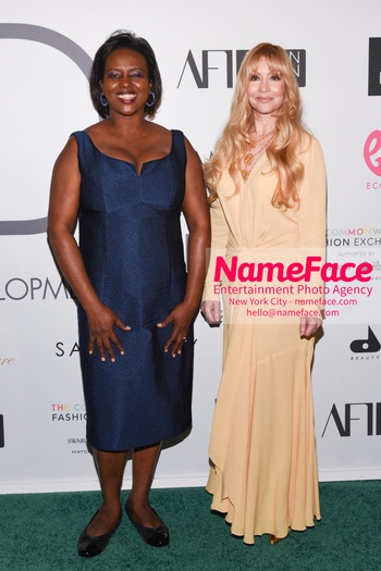 Fashion 4 Development's 8th Annual Official First Ladies Luncheon First Lady of Haiti Martine Moise and Evie Evangelou - NameFace Photo Agency New York City - hello@nameface.com - nameface.com - Photo by Daniela Kirsch