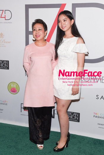 Fashion 4 Development's 8th Annual Official First Ladies Luncheon Peng Liyuan and Xi Mingze - NameFace Photo Agency New York City - hello@nameface.com - nameface.com - Photo by Daniela Kirsch