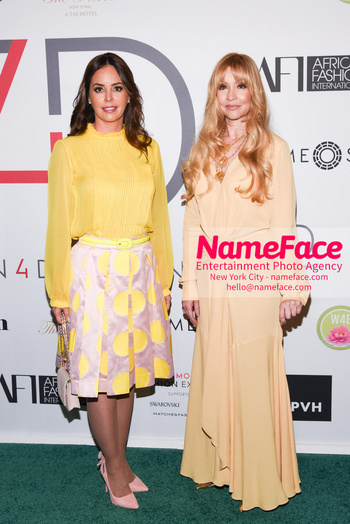 Fashion 4 Development's 8th Annual Official First Ladies Luncheon Silvana Lopez Moreira de Abodo and Evie Evangelou - NameFace Photo Agency New York City - hello@nameface.com - nameface.com - Photo by Daniela Kirsch