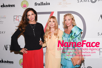 Fashion 4 Development's 8th Annual Official First Ladies Luncheon Claudia Romo Edelman, Evie Evangelou and Princess Camilla Duchess of Castro - NameFace Photo Agency New York City - hello@nameface.com - nameface.com - Photo by Daniela Kirsch