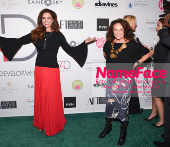 Fashion 4 Development's 8th Annual Official First Ladies Luncheon Claudia Romo Edelman and Diane von Furstenberg - NameFace Photo Agency New York City - hello@nameface.com - nameface.com - Photo by Daniela Kirsch