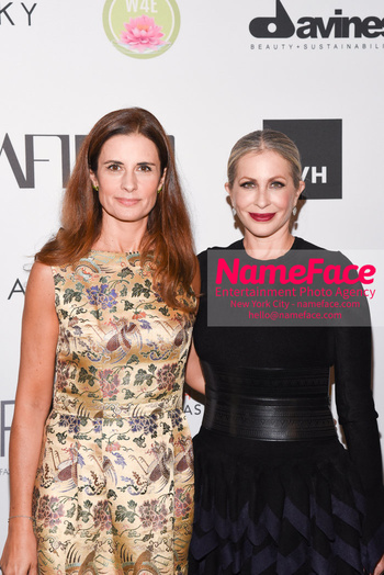 Fashion 4 Development's 8th Annual Official First Ladies Luncheon Livia Firth and Carmen Busquets - NameFace Photo Agency New York City - hello@nameface.com - nameface.com - Photo by Daniela Kirsch