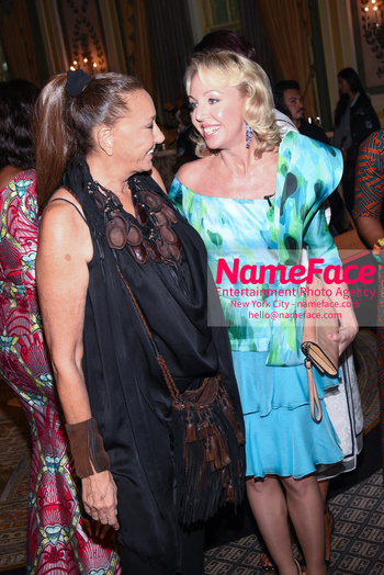 Fashion 4 Development's 8th Annual Official First Ladies Luncheon Donna Karan and Princess Camilla Duchess of Castro - NameFace Photo Agency New York City - hello@nameface.com - nameface.com - Photo by Daniela Kirsch