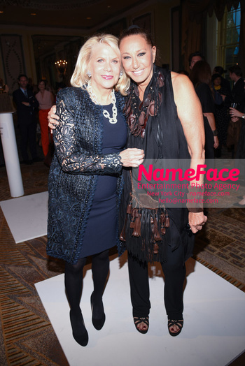 Fashion 4 Development's 8th Annual Official First Ladies Luncheon Francine LeFrak and Donna Karan - NameFace Photo Agency New York City - hello@nameface.com - nameface.com - Photo by Daniela Kirsch