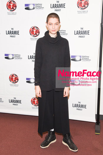 Laramie: A Legacy A Reading of The Laramie Project Honoring the Life and Legacy of Matthew Shepard Asia Kate Dillon - NameFace Photo Agency New York City - hello@nameface.com - nameface.com - Photo by Daniela Kirsch