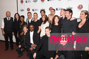 Laramie: A Legacy A Reading of The Laramie Project Honoring the Life and Legacy of Matthew Shepard Cast, Crew and Guests - NameFace Photo Agency New York City - hello@nameface.com - nameface.com - Photo by Daniela Kirsch