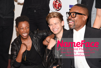 Laramie: A Legacy A Reading of The Laramie Project Honoring the Life and Legacy of Matthew Shepard Samira Wiley, Andrew Keenan-Bolger and Billy Porter - NameFace Photo Agency New York City - hello@nameface.com - nameface.com - Photo by Daniela Kirsch