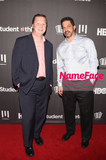 HBO Student Athlete Documentary Screening Party Andrew Bondarowicz, David Weinberg - NameFace Photo Agency New York City - hello@nameface.com - nameface.com - Photo by Daniela Kirsch