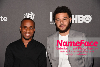HBO Student Athlete Documentary Screening Party Christopher Gray and Amir Baiyina - NameFace Photo Agency New York City - hello@nameface.com - nameface.com - Photo by Daniela Kirsch