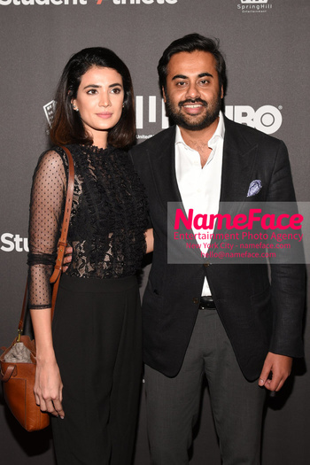 HBO Student Athlete Documentary Screening Party FFatima Chaudhary and Shahab Rashid - NameFace Photo Agency New York City - hello@nameface.com - nameface.com - Photo by Daniela Kirsch