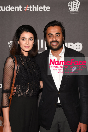 HBO Student Athlete Documentary Screening Party Fatima Chaudhary and Shahab Rashid - NameFace Photo Agency New York City - hello@nameface.com - nameface.com - Photo by Daniela Kirsch