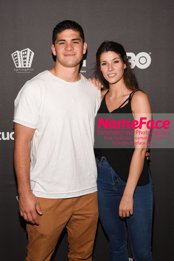 HBO Student Athlete Documentary Screening Party Silas Nacita and Kaitlyn Burrow Nacita - NameFace Photo Agency New York City - hello@nameface.com - nameface.com - Photo by Daniela Kirsch