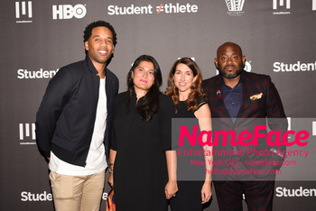 HBO Student Athlete Documentary Screening Party Maverick Carter, Sharmeen Obaid-Chinoy, Trish Dalton and Steve Stoute - NameFace Photo Agency New York City - hello@nameface.com - nameface.com - Photo by Daniela Kirsch