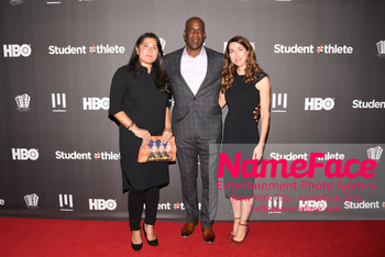 HBO Student Athlete Documentary Screening Party Sharmeen Obaid-Chinoy, Robert Turner and Trish Dalton - NameFace Photo Agency New York City - hello@nameface.com - nameface.com - Photo by Daniela Kirsch