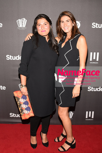 HBO Student Athlete Documentary Screening Party Sharmeen Obaid-Chinoy and Ghia Zaatari - NameFace Photo Agency New York City - hello@nameface.com - nameface.com - Photo by Daniela Kirsch