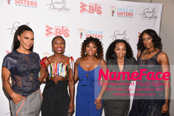 2018 Circle Of Sisters Expo Cindy Herron, Cynthia Erivo, Naturi Naughton, Terry Ellis and Rhona Bennett - NameFace Photo Agency New York City - hello@nameface.com - nameface.com - Photo by Daniela Kirsch
