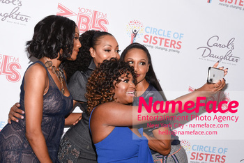 2018 Circle Of Sisters Expo Rhona Bennett, Terry Ellis, Naturi Naughton and Cindy Herron - NameFace Photo Agency New York City - hello@nameface.com - nameface.com - Photo by Daniela Kirsch