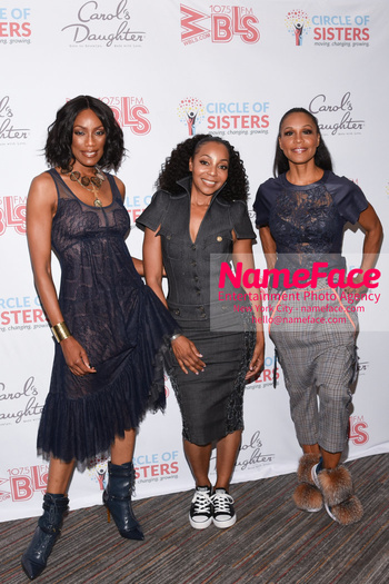 2018 Circle Of Sisters Expo Rhona Bennett, Terry Ellis and Cindy Herron - NameFace Photo Agency New York City - hello@nameface.com - nameface.com - Photo by Daniela Kirsch