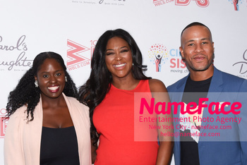 2018 Circle Of Sisters Expo Charreah K. Jackson, Kenya Moore and DeVon Franklin - NameFace Photo Agency New York City - hello@nameface.com - nameface.com - Photo by Daniela Kirsch