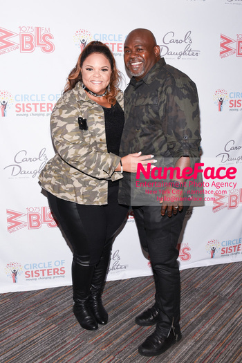 2018 Circle Of Sisters Expo Tamela Mann and David Mann - NameFace Photo Agency New York City - hello@nameface.com - nameface.com - Photo by Daniela Kirsch