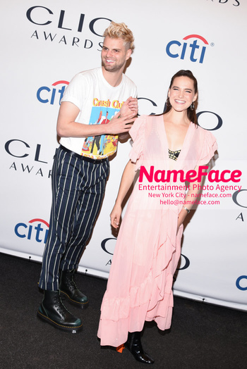 2018 Clio Awards Tucker Halpern and Sophie Hawley-Weld - NameFace Photo Agency New York City - hello@nameface.com - nameface.com - Photo by Daniela Kirsch