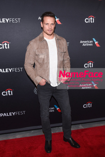 Outlander at the PaleyFest Sam Heughan - NameFace Photo Agency New York City - hello@nameface.com - nameface.com - Photo by Daniela Kirsch