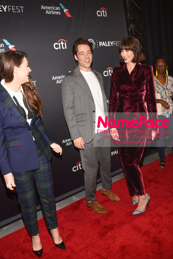 Outlander at the PaleyFest Sophie Skelton, Richard Rankin and Caitriona Balfe - NameFace Photo Agency New York City - hello@nameface.com - nameface.com - Photo by Daniela Kirsch