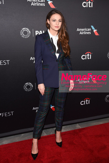 Outlander at the PaleyFest Sophie Skelton - NameFace Photo Agency New York City - hello@nameface.com - nameface.com - Photo by Daniela Kirsch