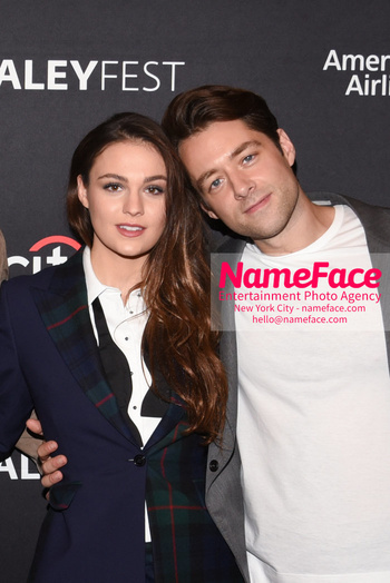 Outlander at the PaleyFest Sophie Skelton and Richard Rankin - NameFace Photo Agency New York City - hello@nameface.com - nameface.com - Photo by Daniela Kirsch