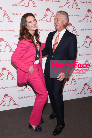 Take Home A Nude 2018 Brooke Shields and David Kratz - NameFace Photo Agency New York City - hello@nameface.com - nameface.com - Photo by Daniela Kirsch