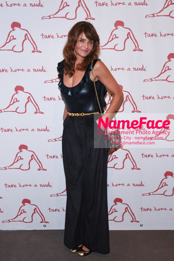 Take Home A Nude 2018 Helena Christensen - NameFace Photo Agency New York City - hello@nameface.com - nameface.com - Photo by Daniela Kirsch