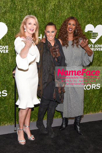 Gods Love We Deliver, Golden Heart Awards 2018 Blaine Trump, Donna Karan and Iman Abdulmajid - NameFace Photo Agency New York City - hello@nameface.com - nameface.com - Photo by Daniela Kirsch