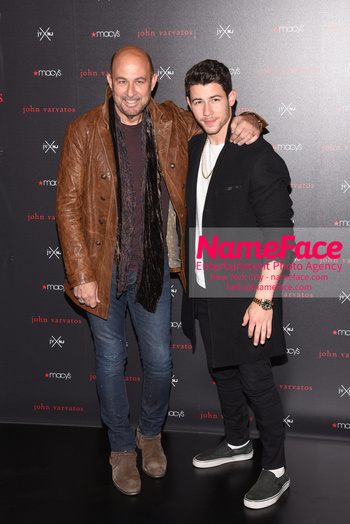 Nick Jonas & John Varvatos Celebrate The Launch Of Their JV x NJ Fragrance John Varvatos and Nick Jonas - NameFace Photo Agency New York City - hello@nameface.com - nameface.com - Photo by Daniela Kirsch