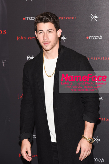 Nick Jonas & John Varvatos Celebrate The Launch Of Their JV x NJ Fragrance Nick Jonas - NameFace Photo Agency New York City - hello@nameface.com - nameface.com - Photo by Daniela Kirsch