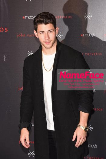 Nick Jonas & John Varvatos Celebrate The Launch Of Their JV x NJ Fragrance Nick Jonas - NameFace Photo Agency New York City - hello@nameface.com - nameface.com - Photo by Daniela Kirsch