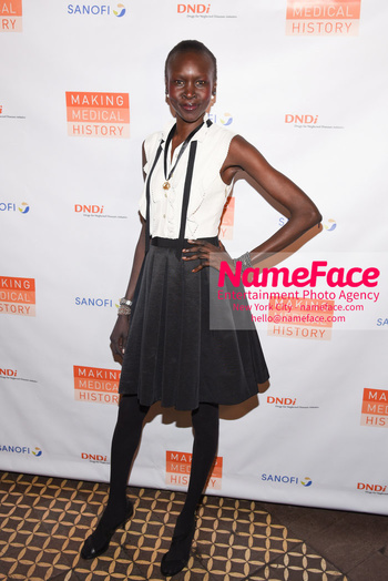 Drugs for Neglected Diseases Initiative Gala DNDi Making Medical History Alek Wek - NameFace Photo Agency New York City - hello@nameface.com - nameface.com - Photo by Daniela Kirsch