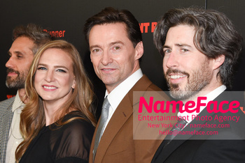 The Front Runner movie premiere Helen Estabrook, Hugh Jackman and Jason Reitman - NameFace Photo Agency New York City - hello@nameface.com - nameface.com - Photo by Daniela Kirsch