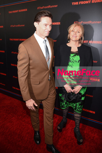The Front Runner movie premiere Hugh Jackman and Deborra Lee-Furness - NameFace Photo Agency New York City - hello@nameface.com - nameface.com - Photo by Daniela Kirsch