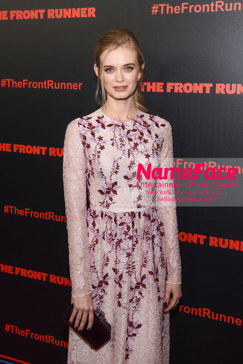The Front Runner movie premiere Sara Paxton - NameFace Photo Agency New York City - hello@nameface.com - nameface.com - Photo by Daniela Kirsch