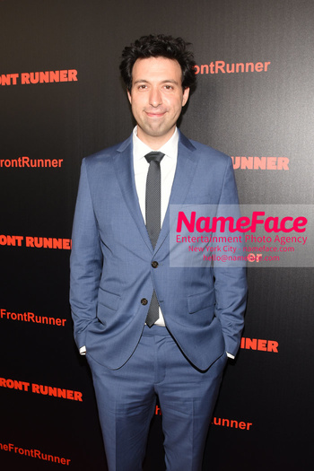The Front Runner movie premiere Alex Karpovsky - NameFace Photo Agency New York City - hello@nameface.com - nameface.com - Photo by Daniela Kirsch