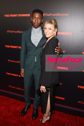 The Front Runner movie premiere Mamoudou Athie and Ari Graynor - NameFace Photo Agency New York City - hello@nameface.com - nameface.com - Photo by Daniela Kirsch