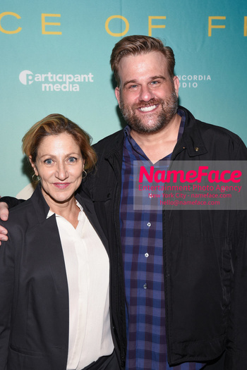 YouTube & Participant Media host a screening of The Price of Free Edie Falco and Stephen Wallem - NameFace Photo Agency New York City - hello@nameface.com - nameface.com - Photo by Daniela Kirsch