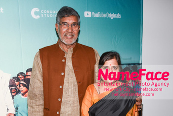 YouTube & Participant Media host a screening of The Price of Free Kailash Satyarthi and Sumedha Satyarthi - NameFace Photo Agency New York City - hello@nameface.com - nameface.com - Photo by Daniela Kirsch