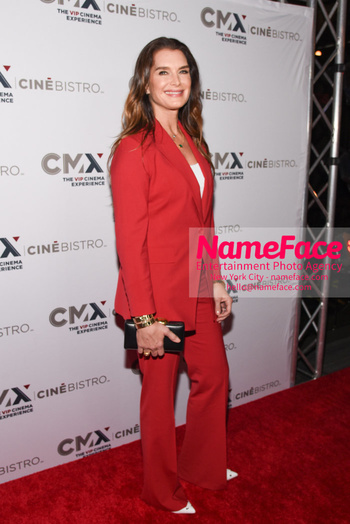Opening of the CMX CineBistro - The VIP Cinema Experience Brooke Shields - NameFace Photo Agency New York City - hello@nameface.com - nameface.com - Photo by Daniela Kirsch