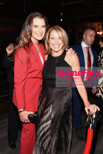 Opening of the CMX CineBistro - The VIP Cinema Experience Brooke Shields and Katie Couric - NameFace Photo Agency New York City - hello@nameface.com - nameface.com - Photo by Daniela Kirsch
